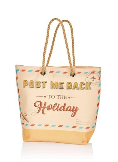Plaj çantası 42x38 Cm - Holiday-The Mia
